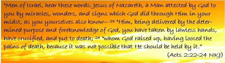 Acts 2 22-24