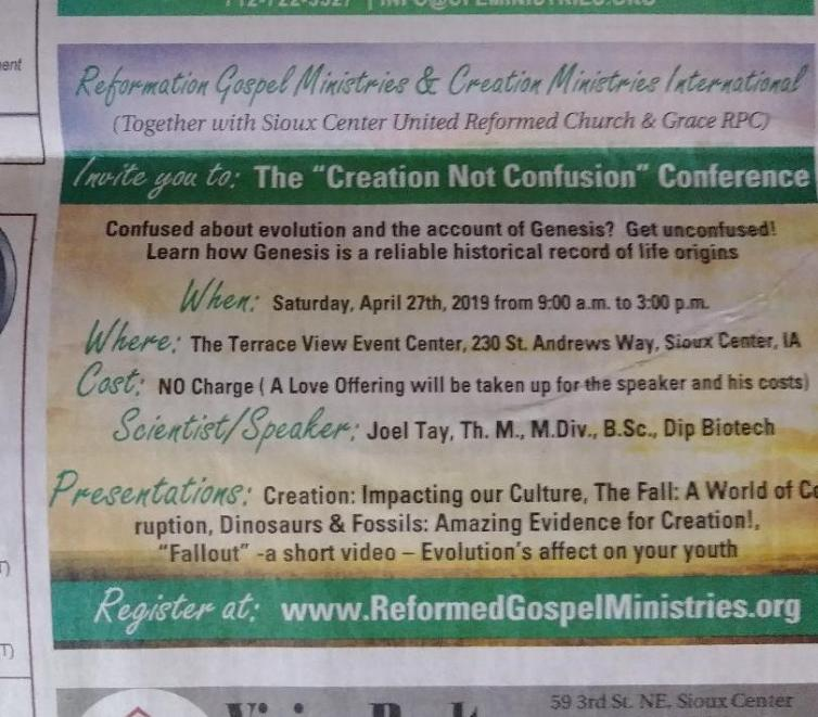 Conference Ad
