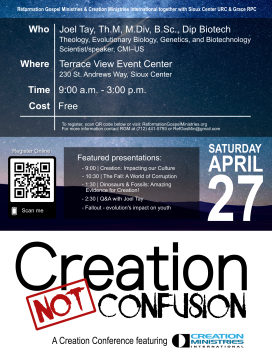 Creation Conference Poster - Revised Updated 032419